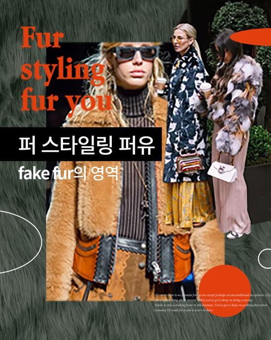 [STYLE] Fur styling fur you [페이크퍼의영역]